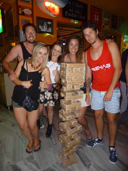 Fun Bar Jenga