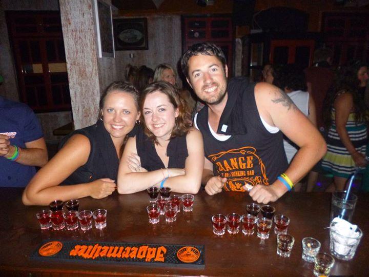 Jager Bar Shot Challenge