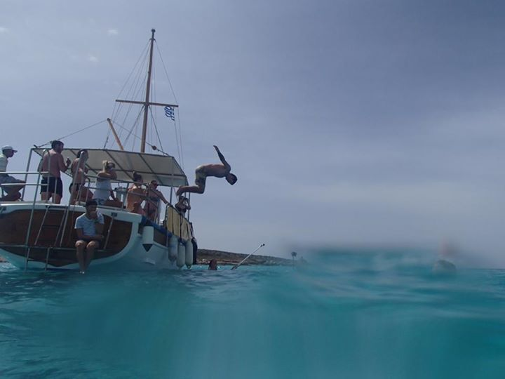 Paros Boat Cruise Flip