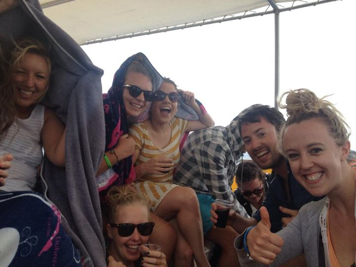 Paros Boat Cruise Storm